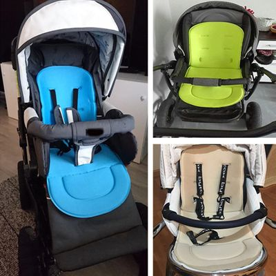 2018 New Breathable Baby Stroller Seat Liner Cushion Pushchair Car Seat Padding Stroller Accessory Baby Supplies dropshipping