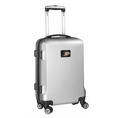 Anaheim Ducks 20In 8-Wheel Hardcase Spinner Carry-On - Silver