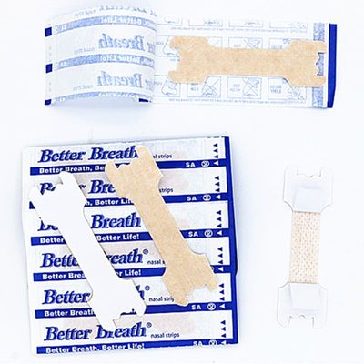 60pcs=2boxes/lot (66x19mm) Top Quality Relieve Nose Congestion Anti Snoring Nasal Strips to Better Breathe