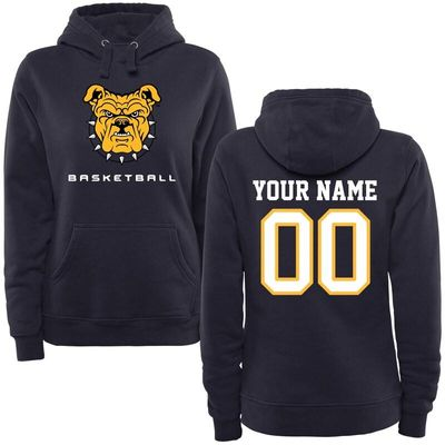 North Carolina A&T Aggies Women's Personalized Basketball Pullover Hoodie - Navy
