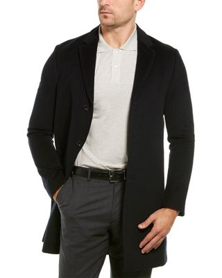 Reiss Gable Wool Overcoat