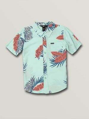 Volcom Little Boys Bermuda Short Sleeve Tee