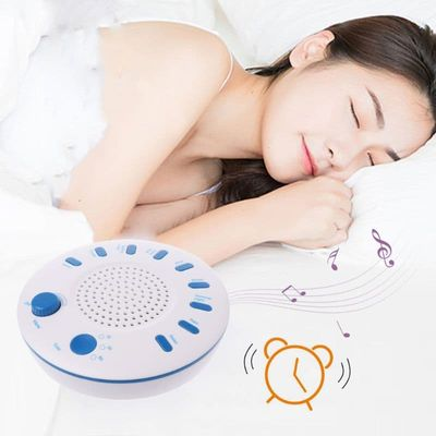 Sleep White Noise Machine Portable Sound Therapy for Baby and Adult Sleeping and Relaxation Device 9 Natural Sounds