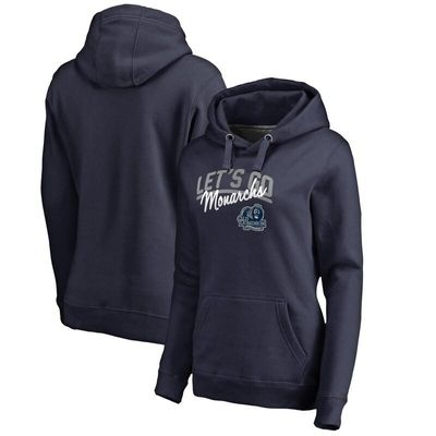 Old Dominion Monarchs Women's Let's Go Pullover Hoodie - Navy