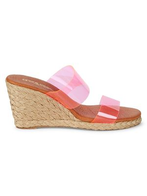 Andre Assous Anfisa Espadrille Wedge Sandals