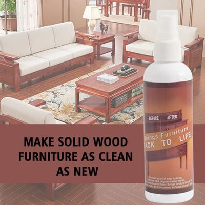 Furniture Refurbish Agent Invisible Scratch Wood Spray Remover Repair Paint for Wooden Table Floor Furniture Clean Refurbished