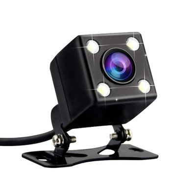 Car Rear View Backup Mini Camera 170 Degree Car Parking Reverse Backup Camera With 4 LED Night Vision IPX67 Waterproof