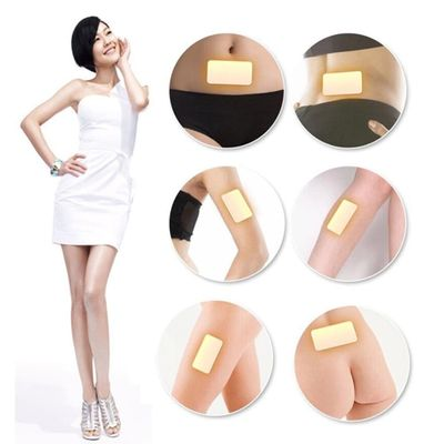 2018 New 10Pcs/lot Trim Pads Slimming Patch Fat Loss Weight Burn Fat Detox Patch Yellow Health Care Slimming Product