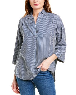 French Connection Julienne Pop Over Shirt