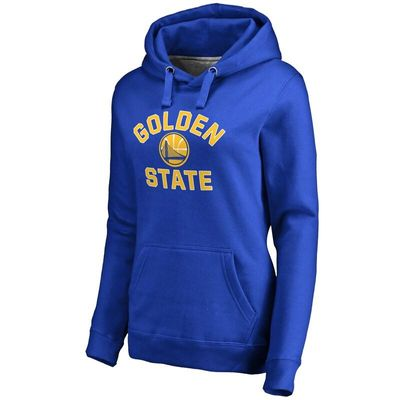 Golden State Warriors Women's Overtime Pullover Hoodie - Royal