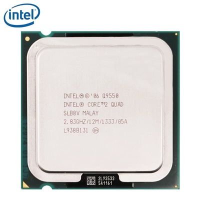 Intel Core 2 Quad Q9550 Processor 2.83GHz 12MB L2 Cache FSB 1333 Desktop LGA 775 CPU tested 100% working