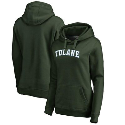 Tulane Green Wave Women's Everyday Pullover Hoodie - Green