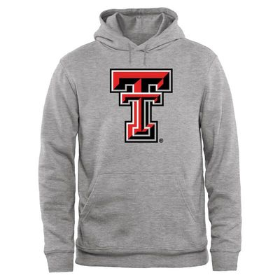 Texas Tech Red Raiders Big & Tall Classic Primary Pullover Hoodie - Ash