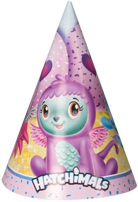 Hatchimals Party Supplies Party Hats, 1 Pack