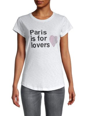 ZADIG & VOLTAIRE Paris Is For Lovers Graphic T-Shirt