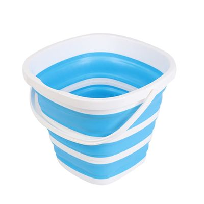 3/5/10L Collapsible Plastic Bucket Foldable Square Tub Portable Fishing Water Pail Outdoor Camping Hiking Picnics Bucket P7Ding