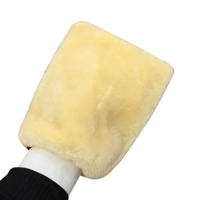 Car Wash Mitt Double Sided Wool Microfiber Car Cleaning Glove for Motorcycle Wax Polishing Washer Sponge Car Care Cleaning