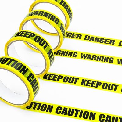 25M DIY Decoration Warning Tapes Halloween Decorations for Outdoor Scary Party Construction Birthday Party Caution Ribbon
