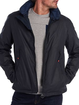 Barbour Stand Collar Cotton Jacket