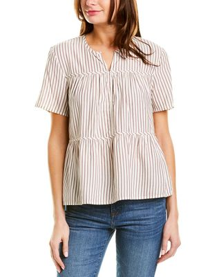 Madewell Seamed Popover Top