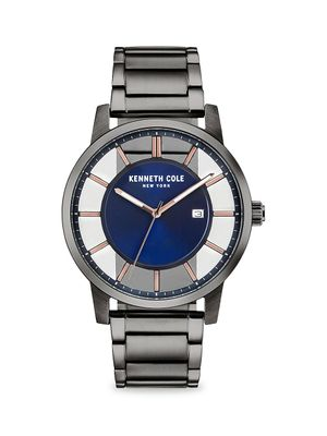 Kenneth Cole New York Transparency Stainless Steel Bracelet Watch