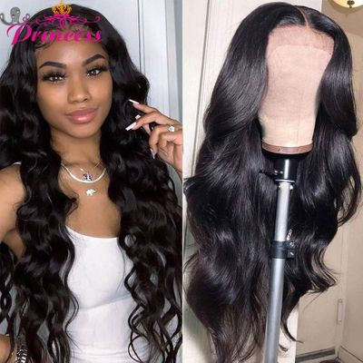 Beautiful Princess 4x4 Lace Closure Wig 13x4/13x6 Body Wave Lace Frontal Human Hair Wigs Brazilian Wig For Black Women Remy