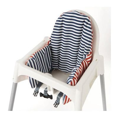 High quality baby dining chair cushion cover with core support pad with Mat for baby inflatable highchair Back cushion