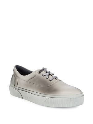 Lanvin Leather Low-Top Sneakers