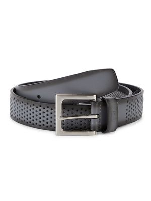 PGA TOUR Perforated Leather Belt