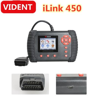Vident iLink450 Full Service OBD2 Scan Tool Live Data EPB, Oil Service, ABS & SRS Reset, Battery Configuration