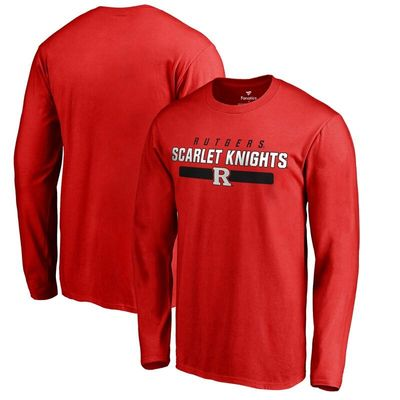 Rutgers Scarlet Knights Team Strong Long Sleeve T-Shirt - Scarlet