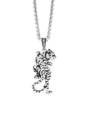 Effy Sterling Silver Pendant Necklace