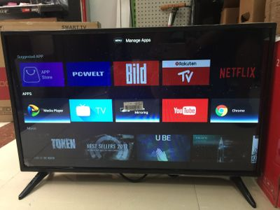 Wifi Smart Android 7.1.1 Television 32 Inch DVB-T2 led television tv