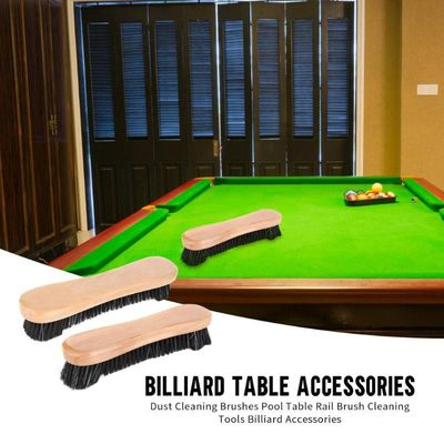 Hot Sale Table Cleaning Brush Delicate Design Dust Cleaning Brushes Pool Table Rail Brush Cleaning Tools Billiard Accessories