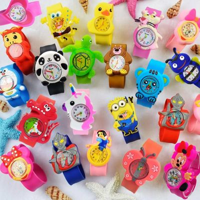 Baby Toys Gift Children Watch cartoon Baby Toys clock kids watches electronic toddler boy girl 1-6 years old child watch gift