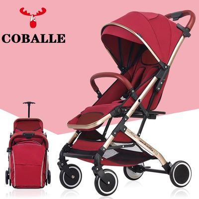 Baby Stroller sit or lie Plane Lightweight Portable Travelling Pram high landscape Children Pushchair 4 seasons RU EU STOCK