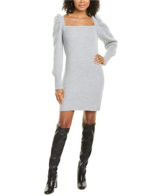 WAYF Square Neck Sweaterdress