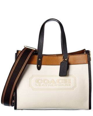 Coach Field 30 Leather Tote