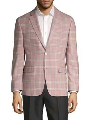 Tommy Hilfiger Standard-Fit Windowpane Sportcoat