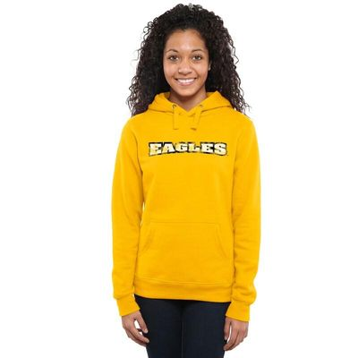Morehead State Eagles Women's Classic Wordmark Pullover Hoodie - Yellow
