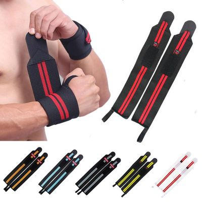 1pc Adjustable Wristband Wrist Wraps Bandages for Weightlifting Powerlifting Breathable Wrist Support Fitness Sports Straps