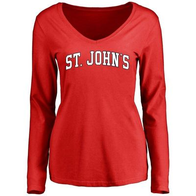 St. Johns Red Storm Women's Everyday Long Sleeve T-Shirt - Red
