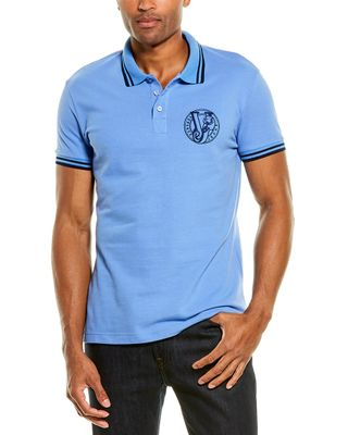 Versace Jeans Slim Fit Pique Polo Shirt