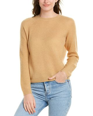 Vince Ribbed Stitch Mohair-Blend Pullover