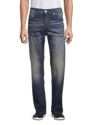 True Religion Devin No Flap Relaxed-Fit Straight Jeans
