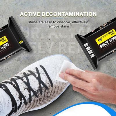 Shoe Artifact Travel Portable Disposable Sneakers Cleaning Wet Wipes White Shoes Artifact Shoe Cleaner Cleaning Supplies 2019
