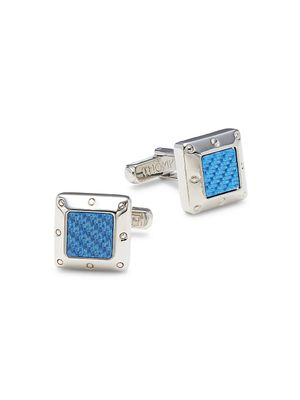 Thompson of London Rhodium-Plated Cufflinks