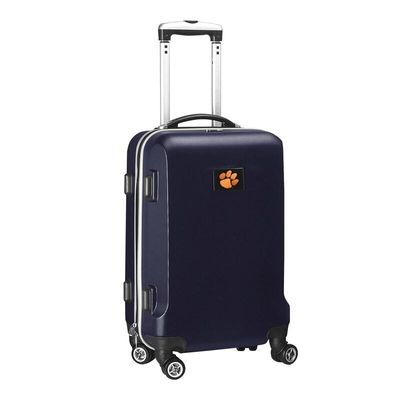 Clemson Tigers 20In 8-Wheel Hardcase Spinner Carry-On - Navy