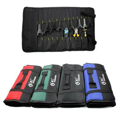 Car Hardware Tool Roll Plier Screwdriver Spanner Organizer Case Pouch Reels Pockets Auto Auxiliary Equipment Toolbox No Tools