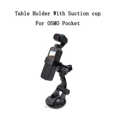 Car Glass Suction Cup Holder for DJI OSMO Pocket Camera Accessories Adjustable Window Glass Mount Table Holder Bracket Adapter